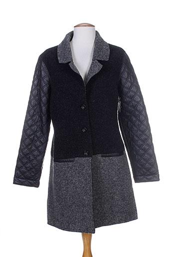 le et petit et baigneur manteaux et longs femme de couleur gris