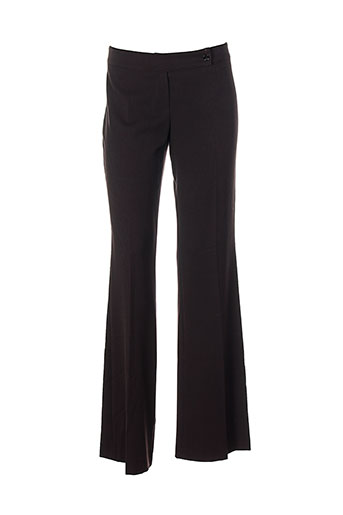 guess pantalons femme de couleur marron