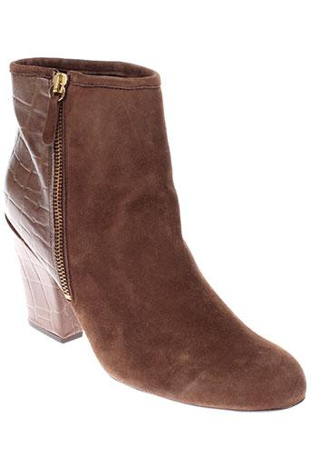 georges et rech boots femme de couleur marron