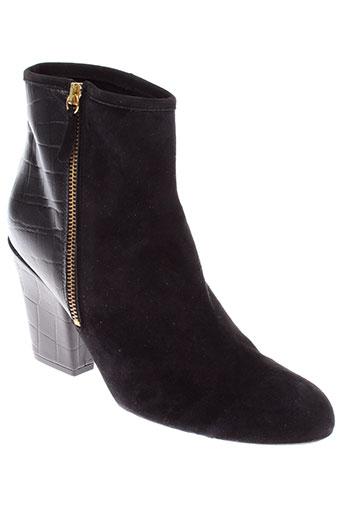 georges et rech boots femme de couleur noir