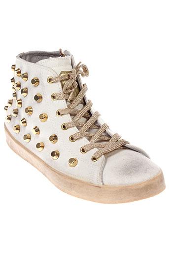 beverly hills polo club chaussures femme de couleur blanc
