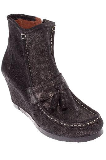 lalil boots femme de couleur noir