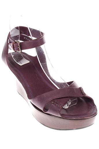 buttero sandales et nu et pieds femme de couleur violet