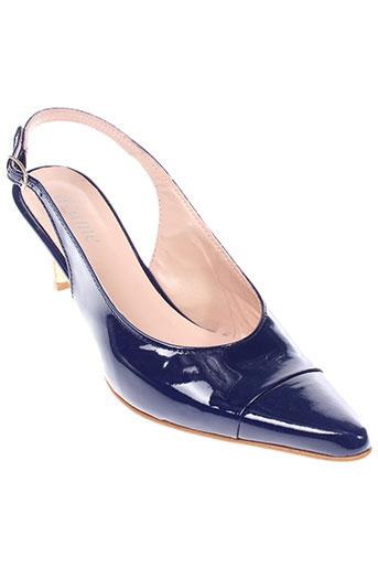 ayame chaussures femme de couleur bleu
