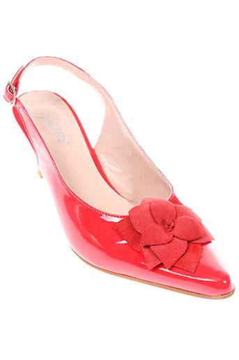 ayame chaussures femme de couleur rouge