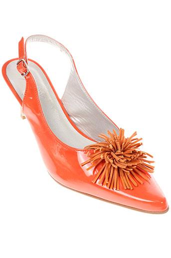 ayame chaussures femme de couleur orange