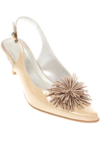 ayame chaussures femme de couleur beige