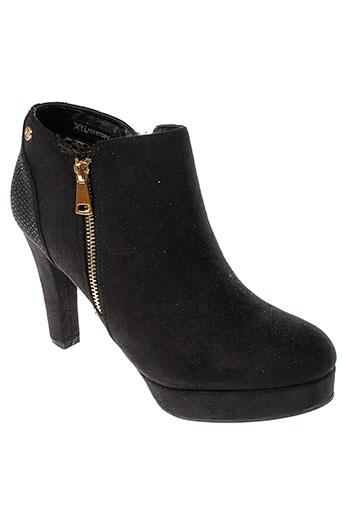 xti boots femme de couleur noir
