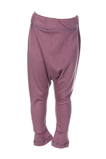 minizabi pantalons fille de couleur violet
