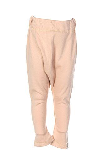 minizabi pantalons fille de couleur beige