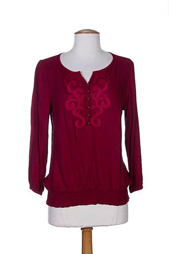 acbelle t et shirts et tops femme de couleur rouge