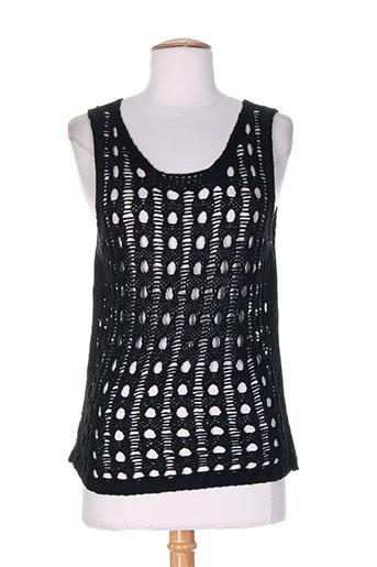capuccino chemises femme de couleur noir