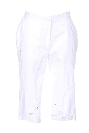griffon pantacourts femme de couleur blanc