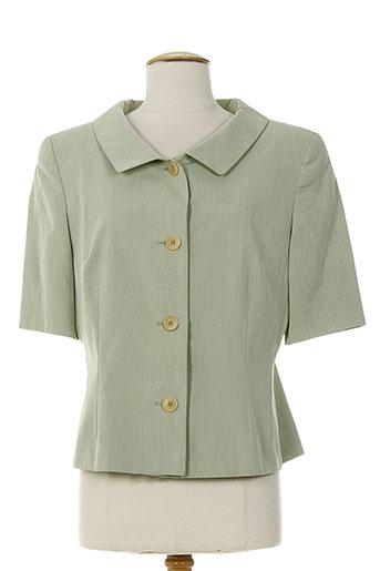 federica vestes femme de couleur vert