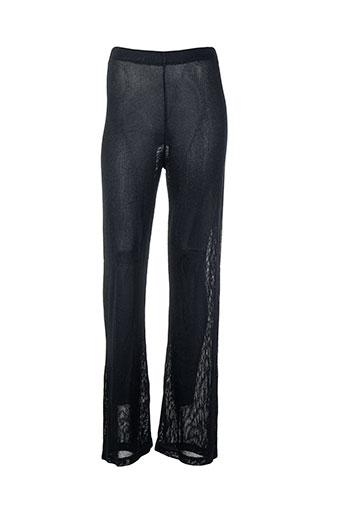 georges rech pantalons femme de couleur bleu