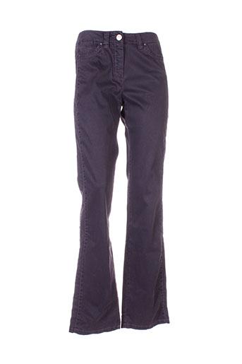 Pantalon casual violet MARELLA pour femme