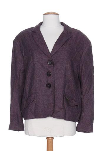 Veste chic / Blazer violet ROSA ROSAM pour femme