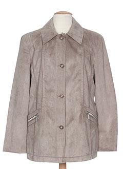 Veste casual gris WHITE LABEL pour femme