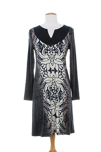 paul brial robes femme de couleur noir