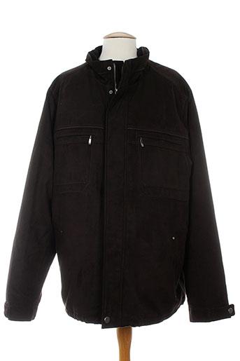 cabano manteaux homme de couleur marron