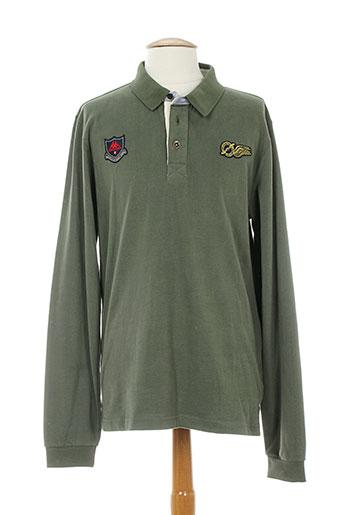 les ailes de saint-tropez t-shirts homme de couleur vert
