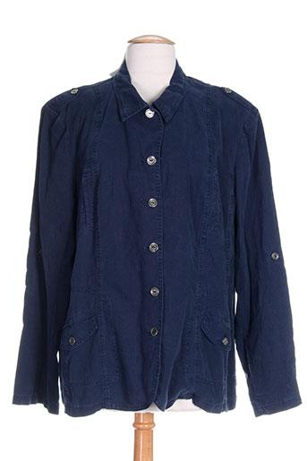 scottage vestes femme de couleur bleu