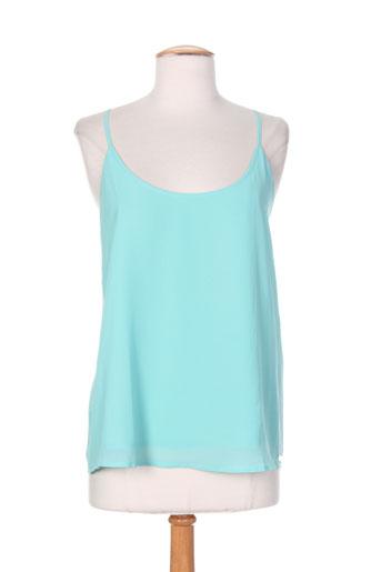 little marcel chemises femme de couleur bleu