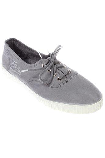 kaporal baskets femme de couleur gris