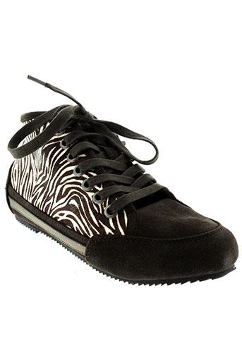 one step chaussures femme de couleur marron