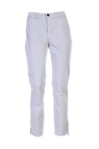 votre nom pantalons femme de couleur gris