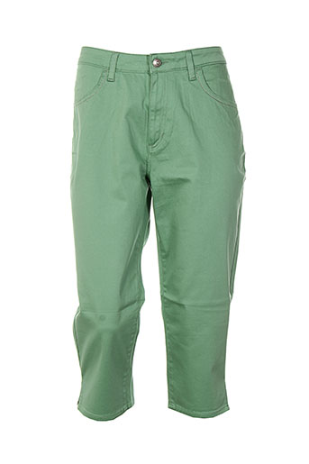 kanope pantacourts femme de couleur vert