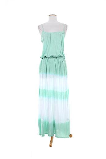 charlie joe robes femme de couleur vert