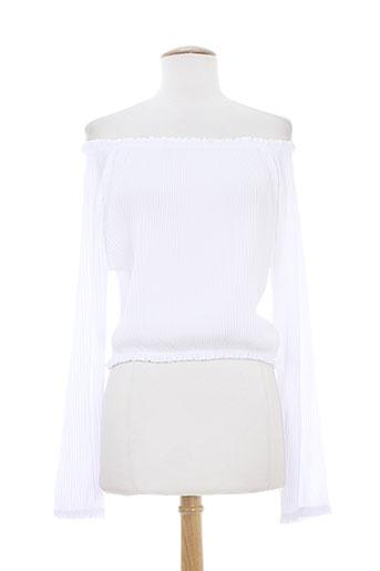 antonello serio chemises femme de couleur blanc