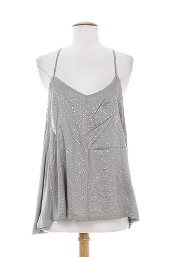 natura chemises femme de couleur gris
