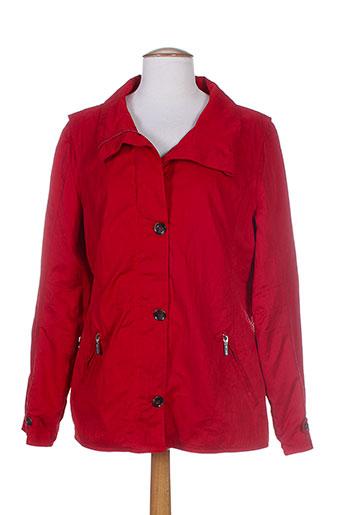 white label vestes femme de couleur rouge