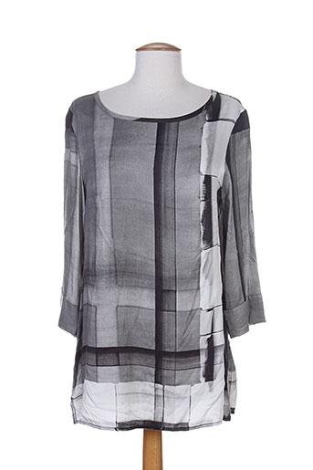 diambre chemises femme de couleur gris