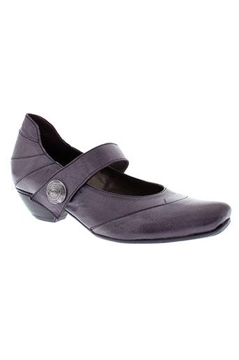 fidji chaussures femme de couleur violet