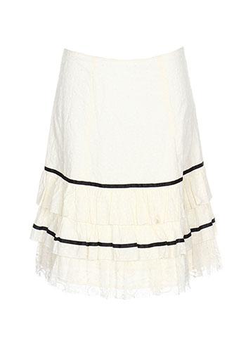 ambre jupes femme de couleur beige