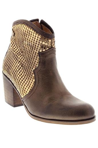 lollipops boots femme de couleur marron