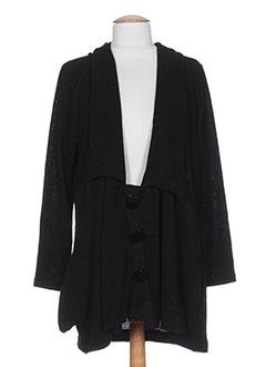 Veste casual noir ELIE BONNIE pour femme