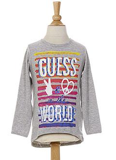 Produit-T-shirts / Tops-Fille-GUESS