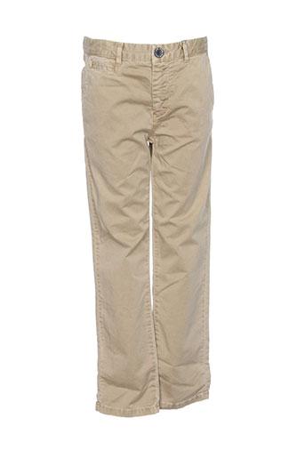 hero et seven pantalons et decontractes garcon de couleur beige