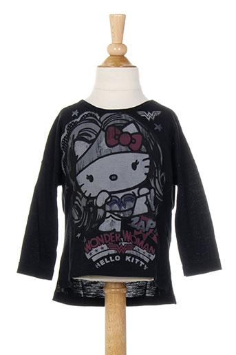 T-shirt manches longues noir BENETTON pour fille