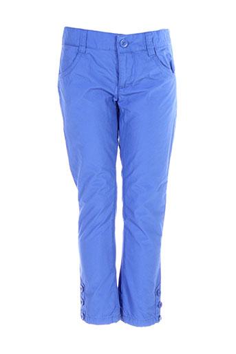 Pantalon casual bleu BENETTON pour fille