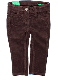 Pantalon casual marron BENETTON pour fille