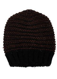 Bonnet marron BENETTON pour fille