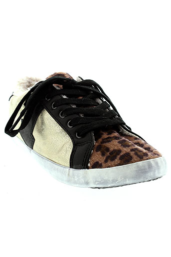 benetton chaussures fille de couleur noir