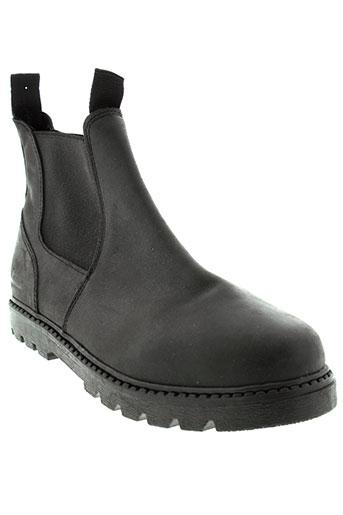 sisley boots femme de couleur noir