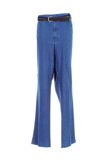 traffic pantalons et decontractes homme de couleur bleu