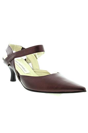 linea raffaelli chaussures femme de couleur rouge